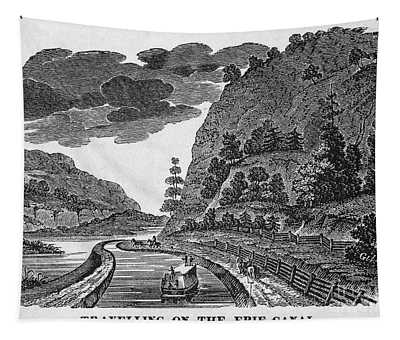 Erie Canal, 1835 Tapestry