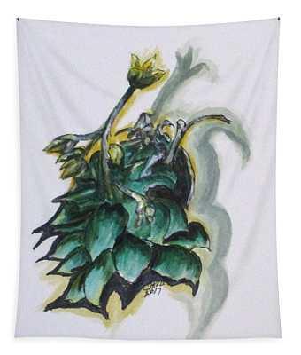 Erika's Spring Plant Tapestry