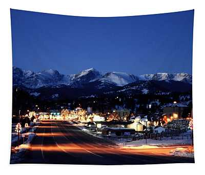 Estes At Dawn Tapestry