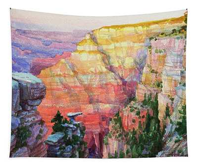 Evening Colors  Tapestry
