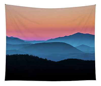 Tapestry featuring the photograph Evening Glow by Emily Bristor