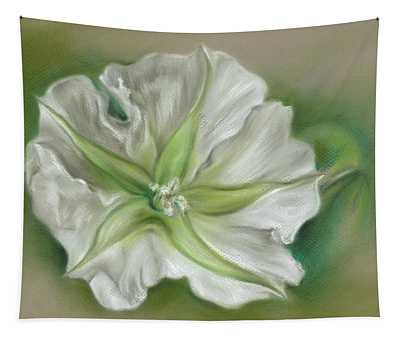 Evening Moonflower Tapestry