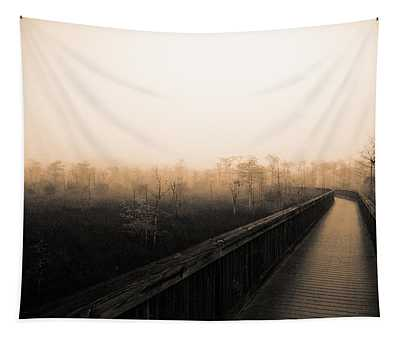 Everglades Boardwalk Tapestry
