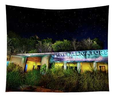 Everglades Gatorland Tapestry