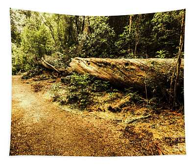 Evergreen Jungle Trails Tapestry