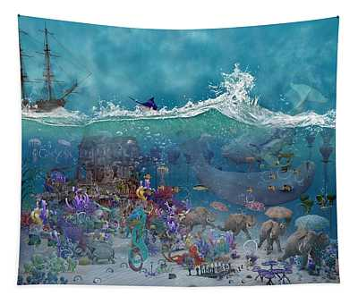 Everything Under The Sea Tapestry