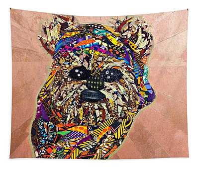 Ewok Star Wars Afrofuturist Collection Tapestry