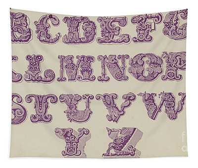 Example Alphabet  Tapestry