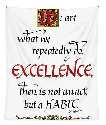 Excellence Tapestry