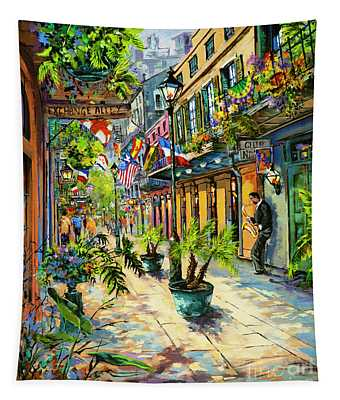 Exchange Alley Tapestry