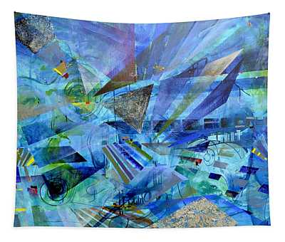 Excursions Of Vision Tapestry
