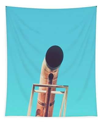 Exhaust Pipe Tapestry