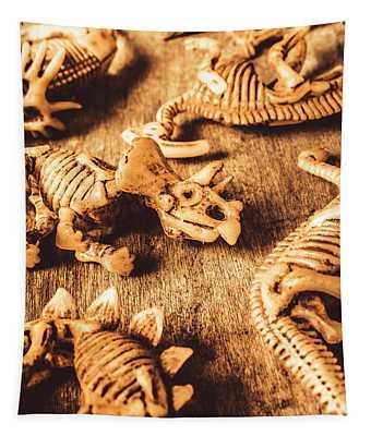 Exhibition In Prehistoric Art Tapestry