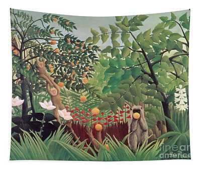 Exotic Landscape Tapestry