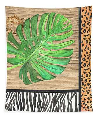 Exotic Palms 3 Tapestry
