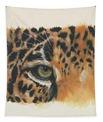 Jaguar Gaze Tapestry