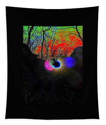 Eye Of Nature Tapestry