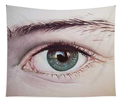 Eye Realistic Watercolor Watercolour Realism Tapestry