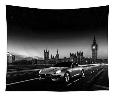 F-type In London Tapestry