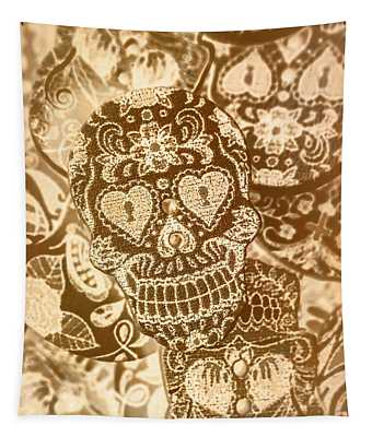 Fabric And Folklore Tapestry
