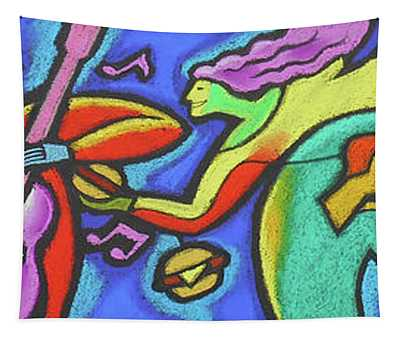 Fabulous Outdoor Party Tapestry