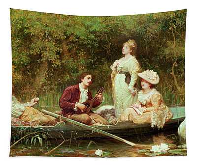 Fair, Quiet And Sweet Rest Tapestry