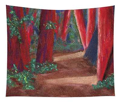 Fairfax Redwoods Tapestry