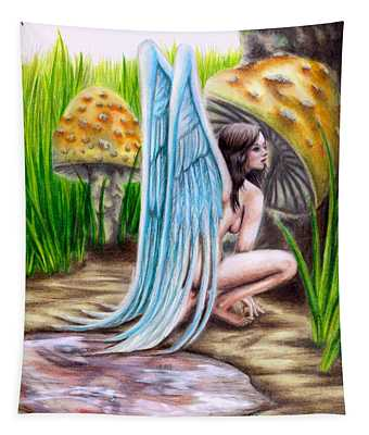Fairy Amongst Poison Tapestry
