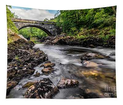 Fairy Glen Bridge Tapestry