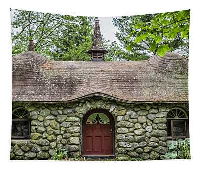Fairy House Tapestry