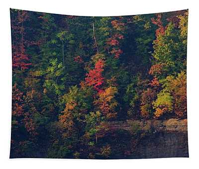 Fall Colors Tapestry