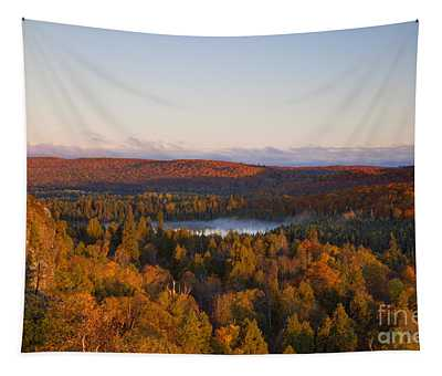 Fall Colors Orberg Mountain North Shore Minnesota Tapestry