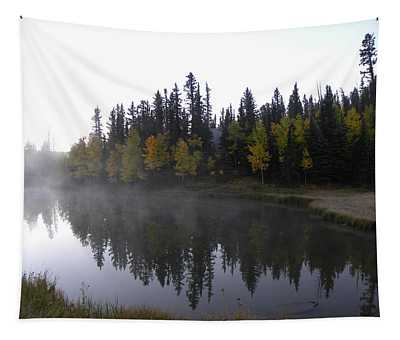 Kiddie Pond Fall Colors Divide Co Tapestry