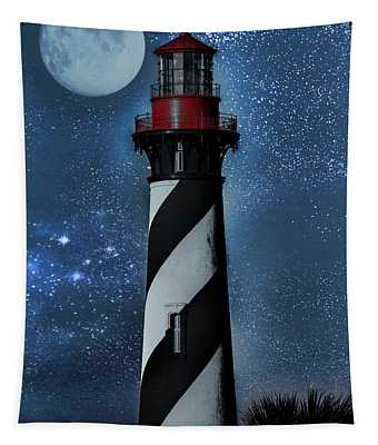 Falling For You St Augustine Lighthouse Tapestry