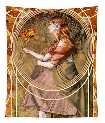 Falling Leaves Tapestry