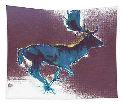 Fallow Buck Tapestry