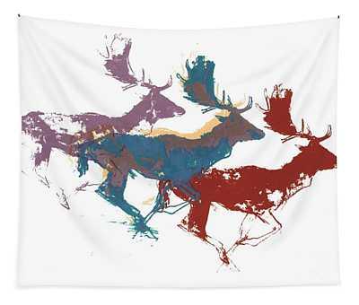 Fallow Bucks Tapestry
