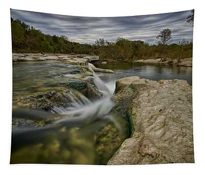 Texas Hill Country Falls Tapestry