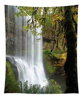Falls Though The Trees Tapestry