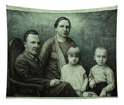 Family Portrait Tapestry