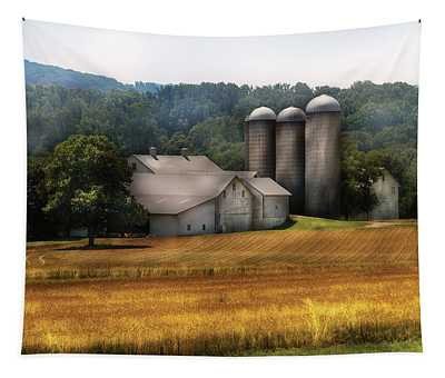 Farm - Barn - Home On The Range Tapestry