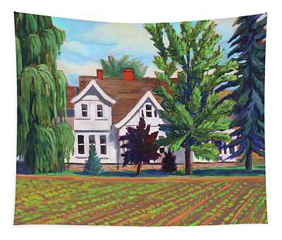 Farm House - Chinden Blvd Tapestry