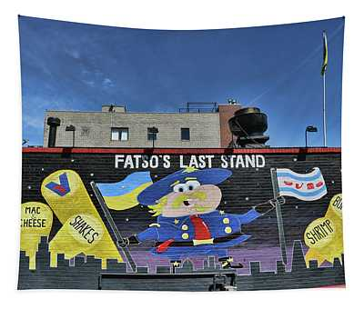 Fatso's Last Stand # 2 - Chicago Tapestry