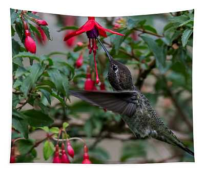 Feeding Time Tapestry