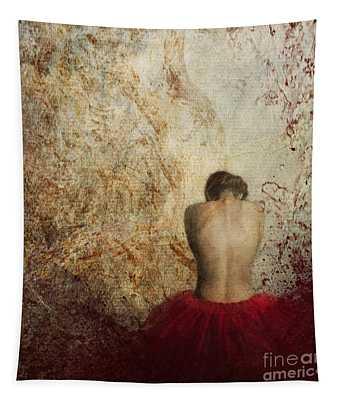 Female Back Tapestry