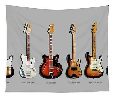 Fender Guitar Collection Tapestry