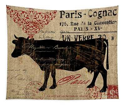 Ferme Farm Cow Tapestry