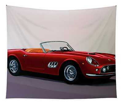 Ferrari 250 Gt California Spyder 1957 Painting Tapestry