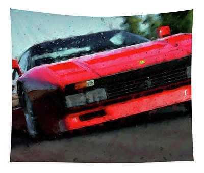 Ferrari 288 Gto - 34  Tapestry by Andrea Mazzocchetti