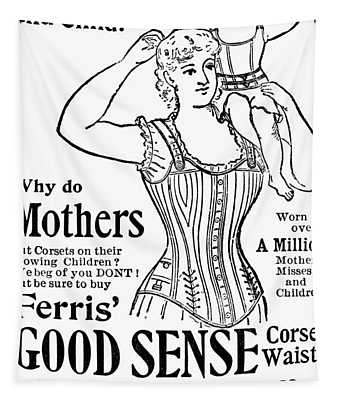 Ferris Good Sense Corset Waists - Marshall Field And Co - Chicago, New York Tapestry